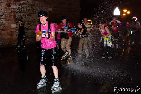 La bataille d'eau de Roulez Rose, l'été arrive enfin   Liens photo pour les yeux   Scoop.it