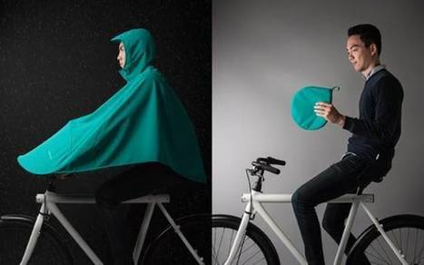 This bike poncho could be the perfect rainy day accessory for cyclists | Ô bô velô ! | Scoop.it