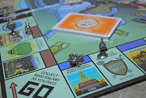 Futurama Monopoly: Bite My Shiny Metal A@# | Life | Scoop.it