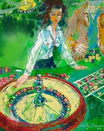 Original Caesars Palace Paintings Up For Auction | Games People Play | Scoop.it