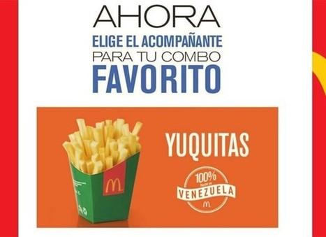 McDonald's fica sem batatas fritas na Venezuela e serve mandioca   BINÓCULO CULTURAL   Monitor de informação para empreendedorismo cultural e criativo    Scoop.it
