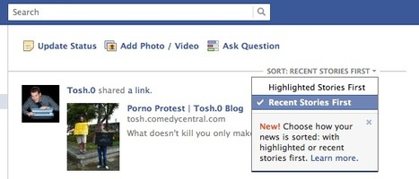Facebook makes the change everyone wants | Educational Technology Tools and Tips | Scoop.it