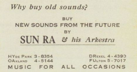 A Collection of Sun Ra's Business Cards from the 1950s: They're Out of This World | Jazz Plus | Scoop.it