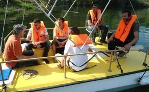 Sainte-Eulalie-d'Olt. Un bateau électro-solaire sur le lac | L'info tourisme en Aveyron | Scoop.it