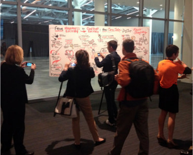 The Magic of Graphic Recording: Turning Live Talks into Visual Content | Graphic Facilitation | Scoop.it