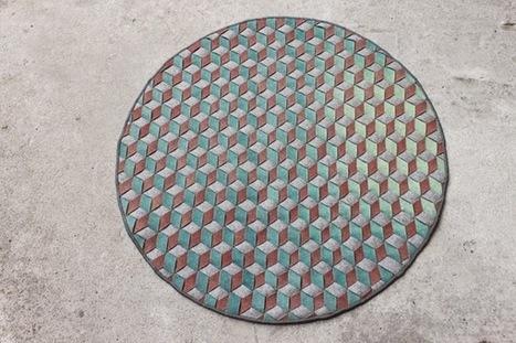 O tapete mágico que muda de cor com as estações | Design | Scoop.it