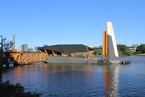 After the deluge: Brisbane's new flood resilient ferry terminal | green streets | Scoop.it