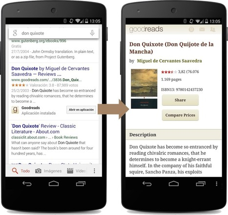 App Indexing: Add Your Android App Content to Google's Index | Visibility | Scoop.it
