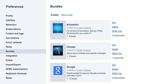 Inoreader: Bundles are now available in our beta | RSS Circus : veille stratégique, intelligence économique, curation, publication, Web 2.0 | Scoop.it