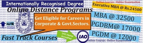 Online Courses -National Institute of Planning Management - Fast track distance programs | online PGDM Courses from nipm.org.in | Scoop.it