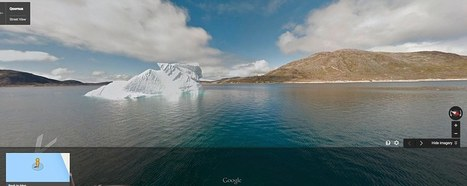 Google Greenland View: Glaciers, fjords and viking ruins added to maps | Maps | Scoop.it