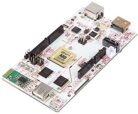 PcDuino8 Board Will be Powered by AllWinner A80 SoC   Embedded Systems News   Scoop.it