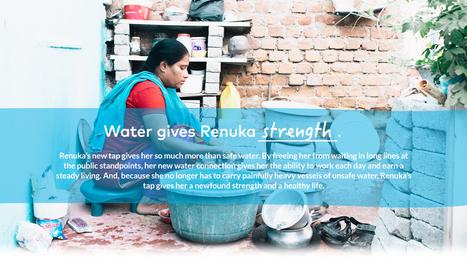World Water Day | Water.org | Nonprofit website design | Scoop.it
