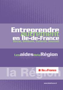 Entreprendre autrement en Île-de-France : guide des aides de la Région | Chuchoteuse d'Alternatives | Scoop.it
