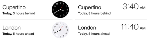 iPhone 101: Five useful Clock app tips for iPhone and iPad owners - tuaw.com   iDevices Tips and Tricks   Scoop.it