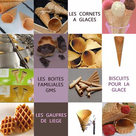 Biscuiterie TOURNIAYRE : cornets à glace | La passion de la glace du sorbet, et des desserts glacés ! | Scoop.it