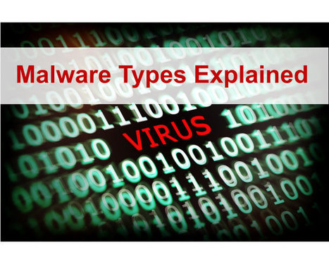 Malware Types Explained - Hacking Tutorials | Websites I Found So You Don't Need To | Scoop.it