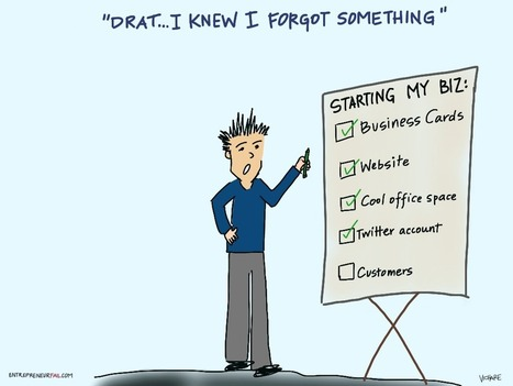 Symptoms of Customer Acquisition Procrastination Syndrome #entrepreneurfail | Start-Up & Growth Hacking Tips | Scoop.it