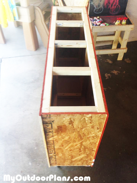 DIY Lumber Storage Cart | MyOutdoorPlans | Free Woodworking Plans and Projects, DIY Shed, Wooden Playhouse, Pergola, Bbq | Garden Plans | Scoop.it