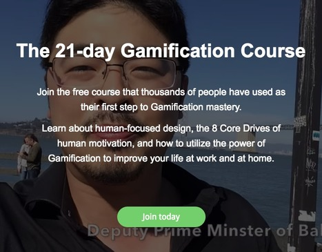 Join the 21-day Gamification Course | Games, gaming and gamification in Higher Education | Scoop.it