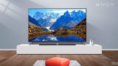 Xiaomi Mi TV 3 now has a 70-inch variant | NoypiGeeks | Philippines' Technology News, Reviews, and How to's | Gadget Reviews | Scoop.it