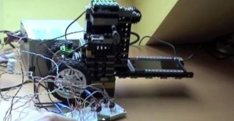 Arduino Uno Controlling a Lego Mindstorms Elevator   Raspberry Pi   Scoop.it