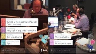 News eyes up Periscope | SportonRadio | Scoop.it