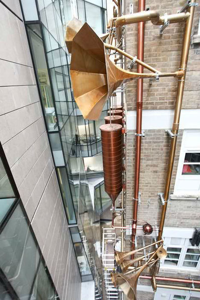 Lullaby Factory: Fanciful Installation for Children's Hospital   WebUrbanist   Just Put Some Gears on It   Scoop.it