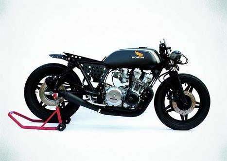 "Honda CB750 '81 ""Settemmezzo Selvatica"" by Anvil | Vintage Motorbikes | Scoop.it"