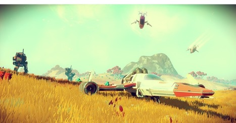 'No Man's Sky' lore comes from classic sci-fi and comics | Research_topic | Scoop.it