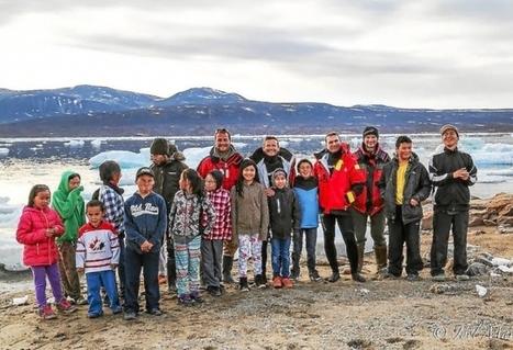 #Arctique.  Des enfants #inuit initiés à la #plongée | Arctique et Antarctique | Scoop.it