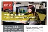 Recruiting youth for digital literacy coaches | Idaho Commission for Libraries | Library world, new trends, technologies | Scoop.it