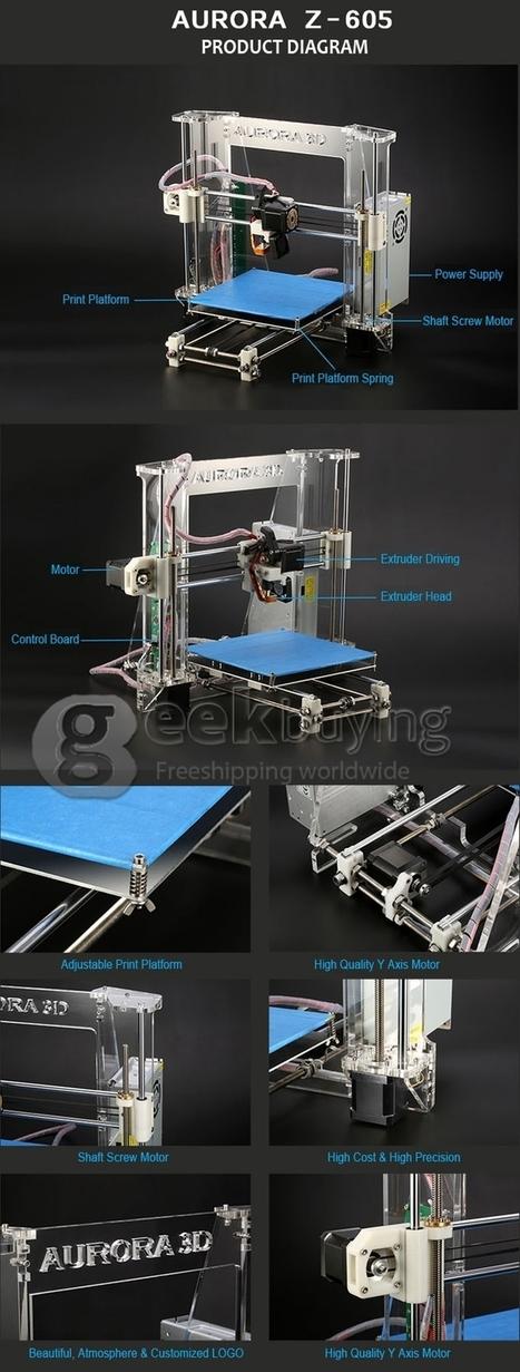 Z605 3D Printer Desktop Printer High Precision Acrylic Frame Three-Dimensional Physical Printer - GeekBuying.com   TV Box & Mini PC TV Stick   Scoop.it