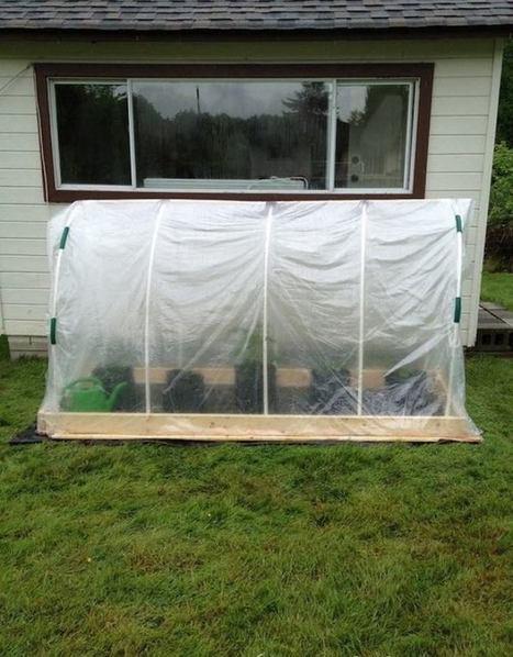 Como hacer un invernadero de cama elevada en nuestro jardín / EcoInventos.com | Educacion, ecologia y TIC | Scoop.it