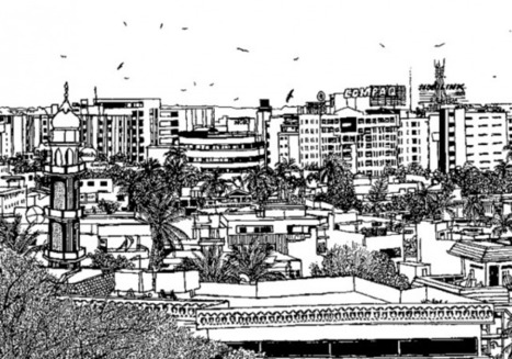 An Adventure of Illustrated Urban Landscapes | Outsider Poets | Scoop.it