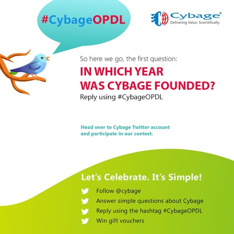 Cybage has been named as the company of the year in OPD by SiliconIndia magazine. Follow @cybage on Twitter, answer simple questions using#CybageOPDL, and stand a chance to become one of the lucky ... | Cybage IT News | Scoop.it
