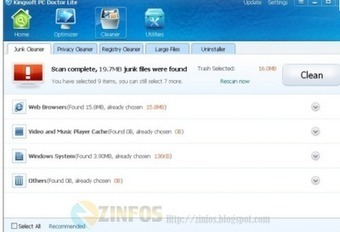 Nettoyer optimiser et accélérer votre ordinateur - Kingsoft PC Doctor | Geeks | Scoop.it