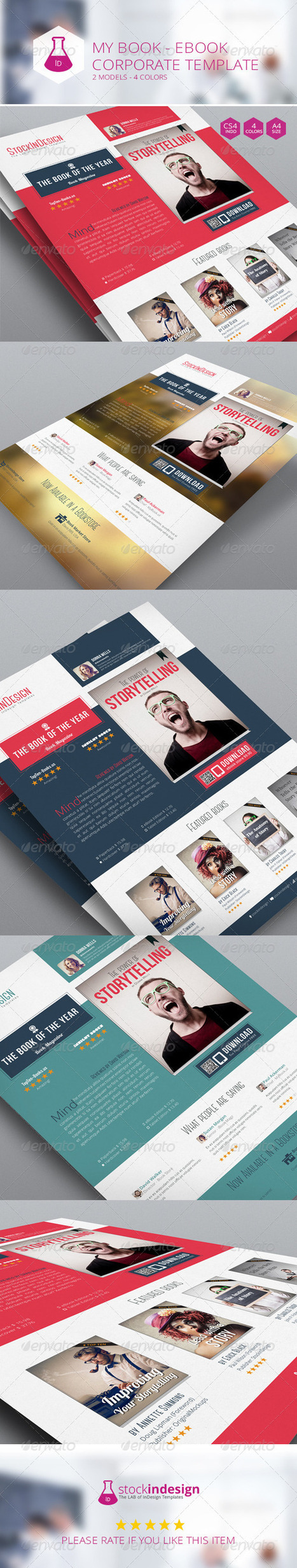 My Book Ebook Promotion - Flat Design (Corporate) | Something about Flat Design | Scoop.it