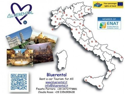 Wheelchair Van Rental Italy, Wheelchair accessible Tourism Italy, tourism@italyforall.com , Italy for All | Accessible Tourism | Scoop.it