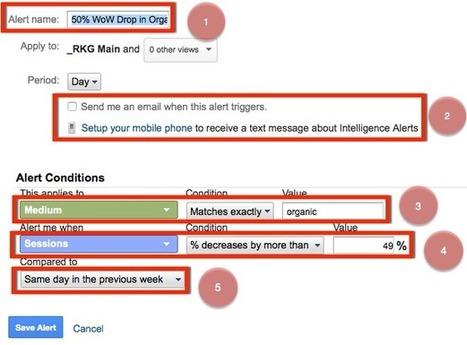 Proactive Alerts For SEO Reporting Using Google Analytics | Online Marketing Resources | Scoop.it