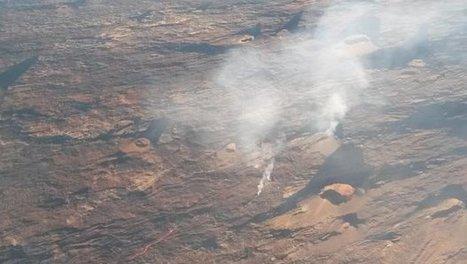 Le volcan du Piton de la Fournaise de nouveau en éruption | Habiter La Réunion | Scoop.it