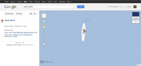 Island shown in Google Maps doesn't actually exist | Geography Education | Scoop.it