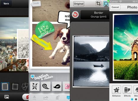 Cuatro aplicaciones gratuitas para retocar tus fotos este fin de semana, desde tu iPhone | Mercadillo Social Media | Scoop.it