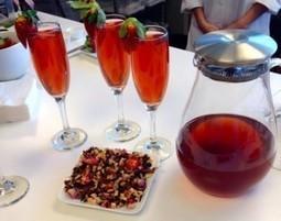 Recipe: Strawberry Blush Rose Tea - Atlanta Journal Constitution (blog) | Cats & Teapots | Scoop.it