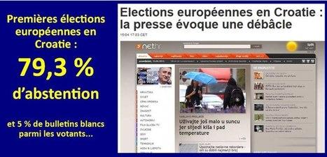 Elections européennes en Croatie: les leçons d'un élitisme démocratique | Union Européenne, une construction dans la tourmente | Scoop.it