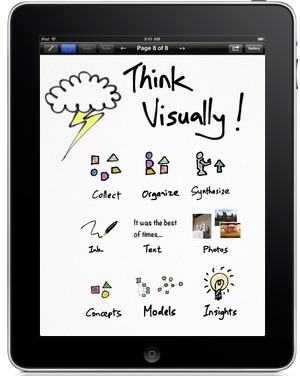 Inkflow: The Visual Thinking App | Teachning, Learning and Develpoing with Technology | Scoop.it
