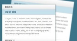 Accordion with CSS3 | Coding (HTML5, CSS3, Javascript, jQuery ...) | Scoop.it