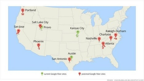 Google Fiber coming to a city near you | Inside Google | Scoop.it