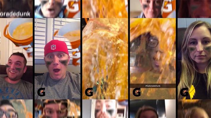 Comment Gatorade a dépassé l'audience du Super Bowl avec un filtre Snapchat | Médias sociaux : Conseils, Astuces et stratégies | Scoop.it