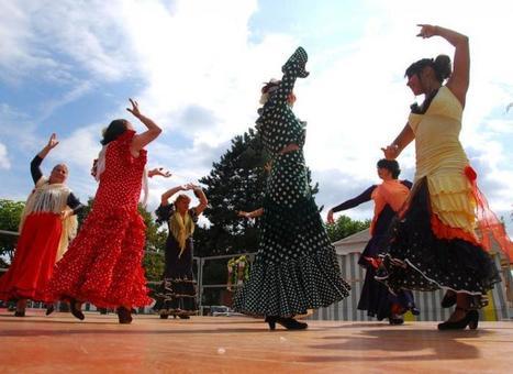 Un spectacle haut en couleur avec les Cuadro flamenco - LaDépêche.fr   regime   Scoop.it